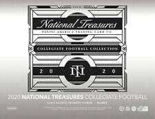 Tee Higgins 2020 NATIONAL TREASURES COLLEGE 4BOX PLAYER CASE BREAK #3