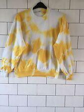 Unisex Urban Vintage Retro Dip Dye Festival De Lavado ácido Sudadera Sweater L #6