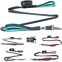 Black Rhino The Comfort Grip - Heavy Duty Dual Handle Dog Leash for Med - Large