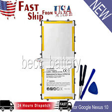 For Samsung NEXUS 10 32GB Battery Replacement For GOOGLE GT-P8110 Tablet Battery