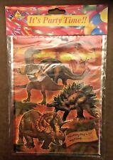 Dinosaur Party Bag / Loot Bag Plastic - Pack Of 6