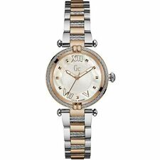 GUESS LADYCHIC 32MM SILVER AND ROSE GOLD TONE STAINLESS STEEL GCY18002L1 WATCH