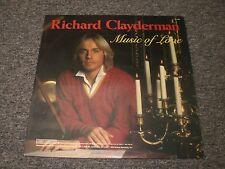 Richard Clayderman~Music of Love~1984 Easy Listening~Jazz Pop~FAST SHIPPING