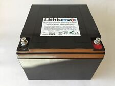 Lithiumax Black Series 620CCA Lithium Car or Boat Battery, LiFePo4 with BMS