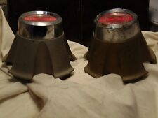 Pair of Chrysler Pontiac Wheel center caps