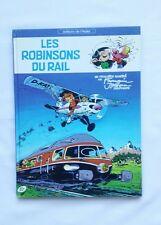 BD - Les robinsons du rail GASTON EO 1981 / FRANQUIN & JIDEHEM / EDITION ATELIER