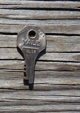 Vintage  Yale HL 12  Key Suitcase Traincase Luggage  Key Yale Key HL 12     HL12