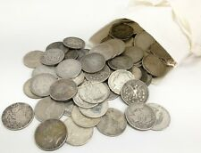 90% Silver Morgan & Peace Dollars $1 Lot of 100-Cull Coin Bag