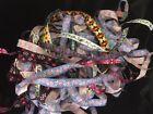 20 Yards jacquard Ribbon Craft Embellish Sewing Mix Lot RANDOM PICK GRAB BAG 1/2