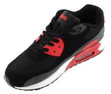 CALDEN FD018 - 2.4 Inches Elevator Height Increase Red/Black Men Sneakers