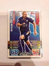 Trading Card signiert Ritchie de Laet Leicester City NEU