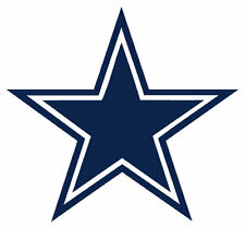 "Dallas Cowboys STAR HUGE Wall Decal Sticker 26"" x 24"" Car Truck Glass"
