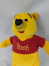 Disney Winnie the Pooh Embroidered Plush Stuffed Animal Flaw 11 inches