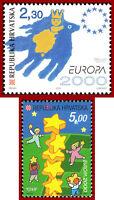Kroatien  2000 CEPT Europa, Mi 544-545 ** MNH