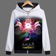 Undertale Asriel Dreemurr/Chara Zipper Jacket Cosplay Hoodie Unisex Coat#DD-H132