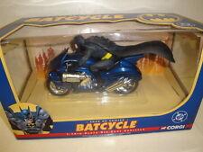 batman : corgi toys batcycle   in box nuovo rara