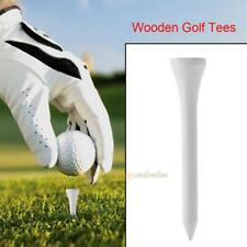 """20pc/Kit Wooden Golf Tee Golf Solid wood Tees Golf Accessories Ball Nails 2.16"""""""