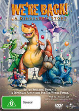 We're Back! A Dinosaur's Story Were Back  New DVD R4