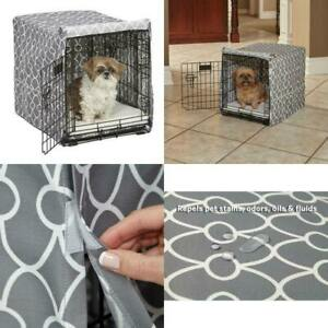 Dog Crate Cover, Midwest Homes For Pets, Teflon Fabric Protector Repels stains
