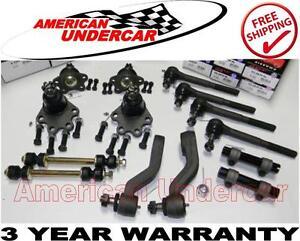 HD Ball Joint Tie Rod Idler Pitman Arm Bushing Kit Chevrolet GMC K1500 K2500 4x4