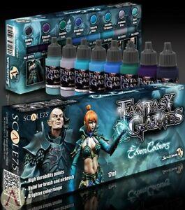 Scale 75 Elven Colours Paint Set (8 bottles) Hobby Acrylic Paints