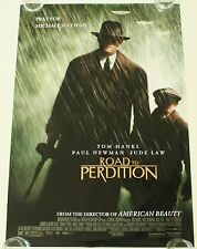 ROAD TO PERDITION 27X40 DS MOVIE POSTER ONE SHEET NEW AUTHENTIC