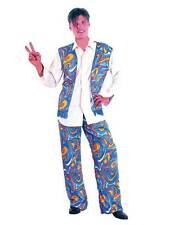 Flower Power Hippy Man, 1960s, 1970s Hippie, Mens Fancy Dress Costume #AU