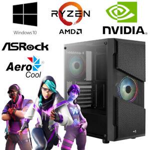 Gaming PC - AMD Ryzen 5 3600, 6x 4,2GHz - 16GB RAM - 512GB SSD - NVIDIA GT-1030