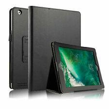 Plain Folio Stand Case For Apple iPad Air 9.7 5th 6th 7th 8th Gen 10.2 Pro 10.5