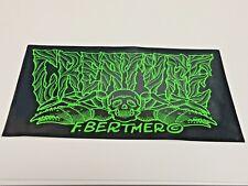 "Creature, Skate Board Sticker, F. Bertmero, 6-1/2"" x 4"""