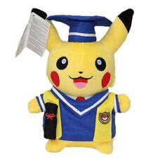 "NEW Doctor Graduation Pokemon Pikachu Pocket Monster 10"" Plush"