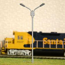 10 x OO / HO scale Model Railroad train Lamp posts Led street light Lamps YD100D