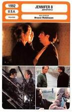 FICHE CINEMA : JENNIFER 8 - Garcia,Thurman,Henriksen,Robinson 1992