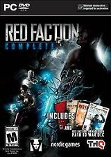 * NEW * Red Faction Complete (PC, 2014) * 5 Games * Guerrilla / Armageddon *