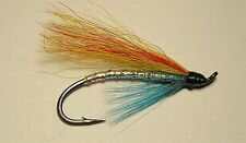 Micky Finn - Blue Throat - Hair Wing #4 Salmon Flies