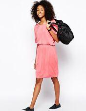 Monki Kimono Sleeve Slouch Waist Dress Size Small 10/12 BNWT Pink Uk Freepost