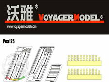 Voyager PEA125 1/35 WWII German King Tiger Schurzen for Dragon kit