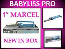 "NEW!! BABYLISS PRO NANO TITANIUM 450° TURBO BOOST 1"" MARCEL SPRING CURLING IRON"