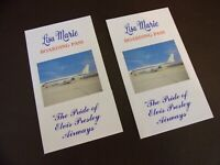 Elvis Presley Airways Lisa Marie Boarding Passes