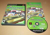 Intellivision Lives for Playstation 2 PS2 Complete Fast Shipping!