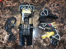 Power Rangers Dino Super Charge T Rex Zord Black ( Parts )