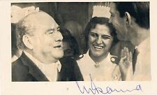 "New listing Christiaan Barnard 1922-2001 genuine autograph signed 3.5x5.5"" card surgeon"