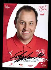 Martin Salzgeber Autogrammkarte Schweiz Nationalelf Original Signiert+A 141450