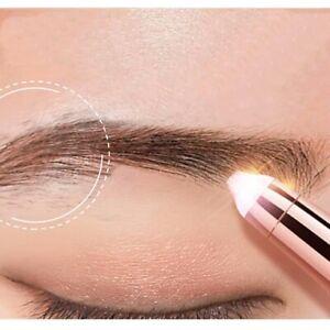 Electric Eyebrow Trimmer Eye Brow Epilator Shaver Pen Women Hair Remover Razors