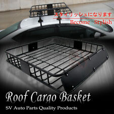 Fit Volkswagen Rooftop Basket Cargo Carrier Roof Rack Luggage Storage Holder
