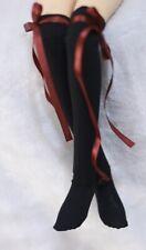 Knee-High Lace Socks Stockings for 1/3 1/4 1/6 BJD Doll DOD AOD AS DD LUTS DZ