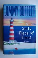 Jimmy Buffett Salty Piece Of Land Hardcover Bookclub Edition (Great Beach Read!)