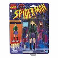 "Marvel Legends Vintage Retro 6"" Figure Gwen Stacy w/ Mary Jane Alternate Head 🕷"