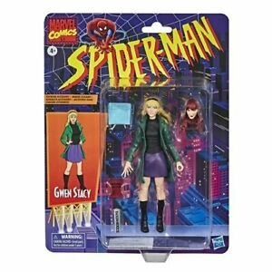 "Marvel Legends Vintage Retro 6"" Figure Gwen Stacy w/ Mary Jane Alternate Head 🕷"