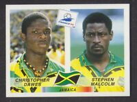 Panini - France 98 World Cup - # 559 Dawes / Malcolm - Jamaica